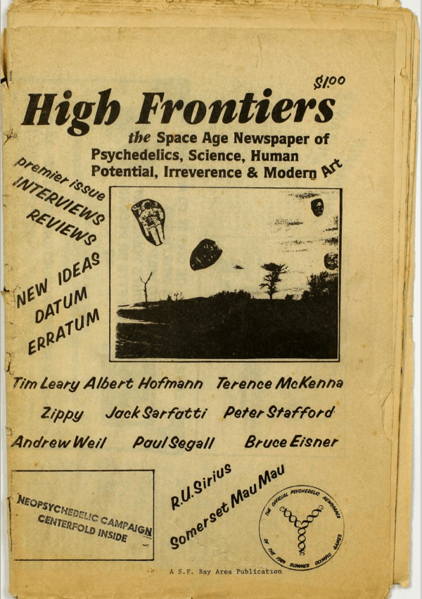 High Frontiers issue 1. Read through all of the issues here!