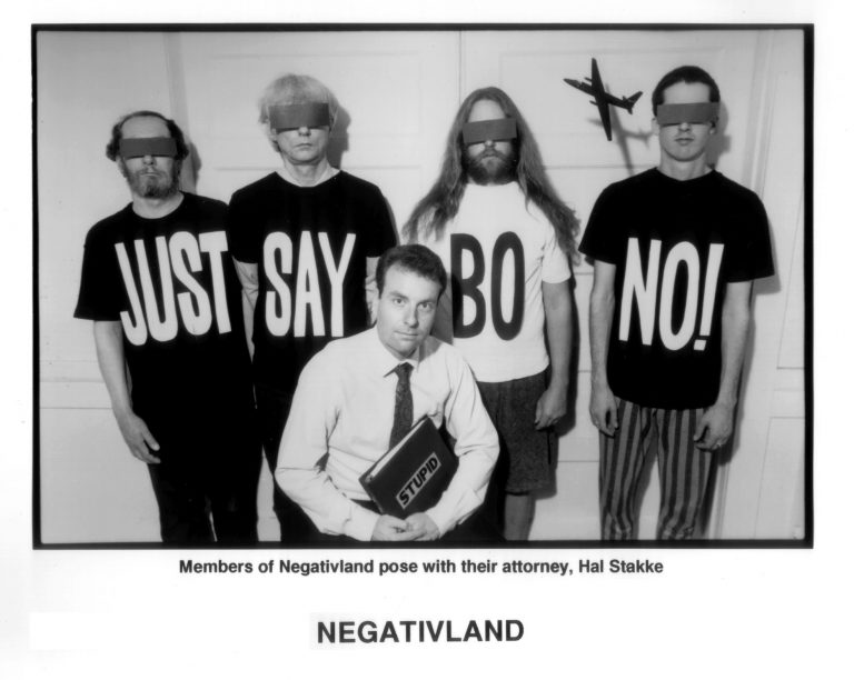 Photograph of the band Negativland.