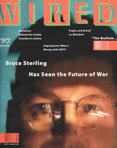 Wired Magazine issue 1, March 1993.