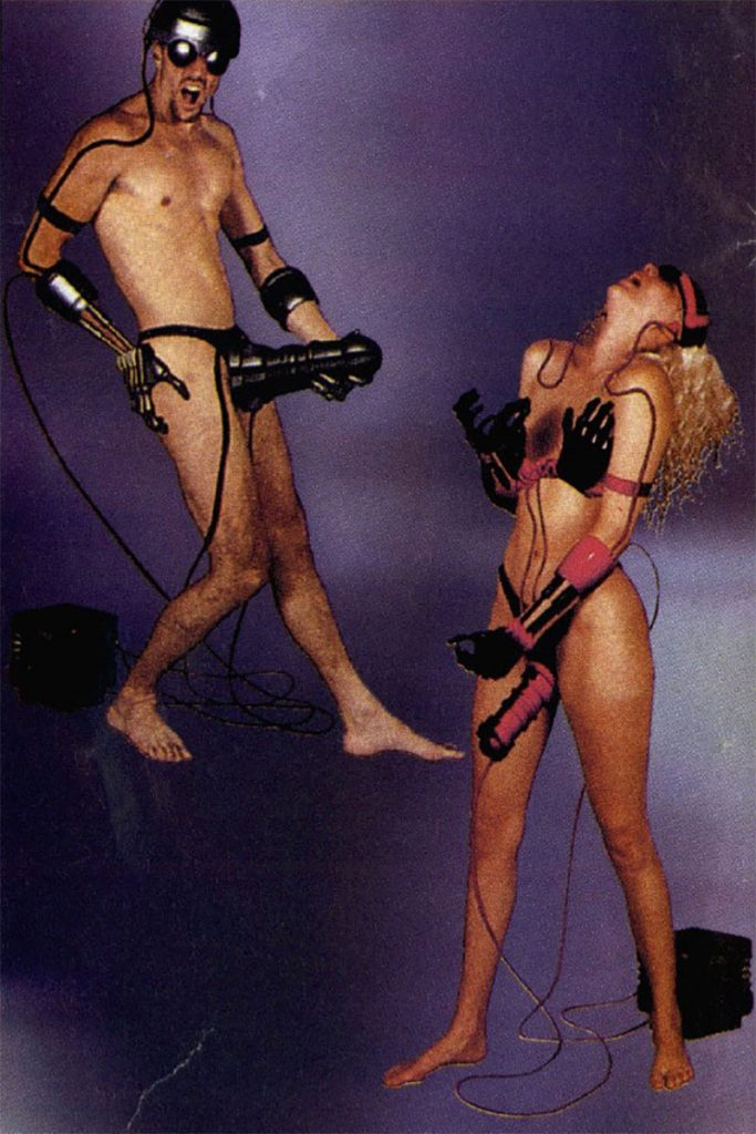 Photos like this are some of those most memorable from Future Sex. Originally from Future Sex issue 2, this scan was actually taken from a 1993 issue of Australian games magazine named Hyper where the images were reused.